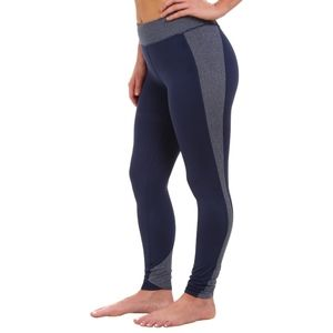 Under Armour| Leggings Blue Striped Workout